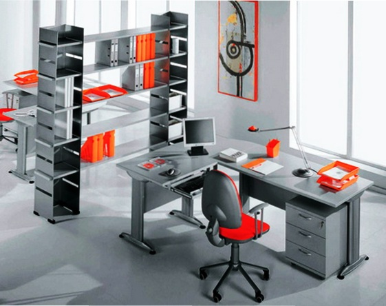 Преимущества металлической мебели
