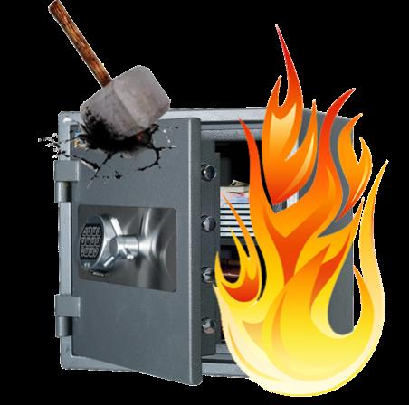 Огневзломостойкие сейфы